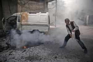 Douma Nov 7 2016 (Sameer Al-Doumy:AFP:Getty Images) Nov 12 2016