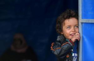 Mosul refugee child ( REUTERS:Alaa Al-Marjani) Nov 9 2016