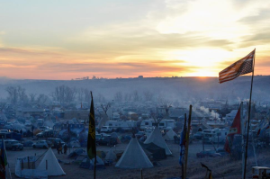 Oceti Sakowin camp (REUTERS:Stephanie Keith) Nov 28 2016