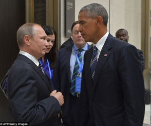 Putin & Obama putting their made face (Nov 21 2016)