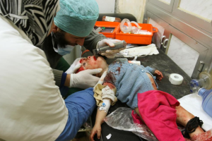 Seriously injured chile in E Aleppo Nov 18 (REUTERS:Abdalrhman Ismail) Nov 18 2016