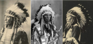 Sioux chief portraits