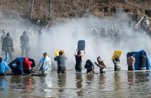 Standing Rock Indian Reservation, Cannonball ND (REUTERS:Stephanie Keith--Nov 3 2016