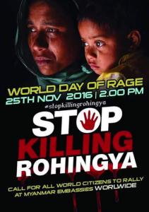 Stop Rohingya genocide Nov 26 2016
