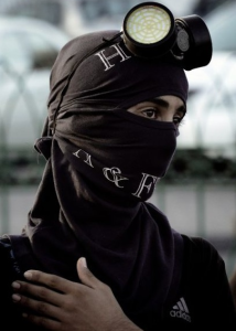 Bahrain burqa (Photo by Mohammed Al-Shaikh:AFP) Dec7 2016