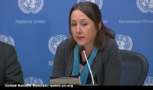 Eva Bartlett at Syrian Mission to UN Dec 10 2016