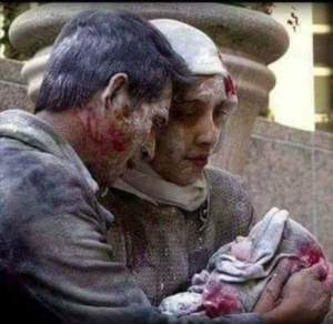 Family in Aleppo (FB wall of ELEGANCE) Dec 20 2016