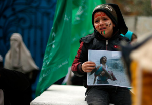 Gaza boy for Aleppo (REUTERS:Suhaib Salem) Dec 16 2016