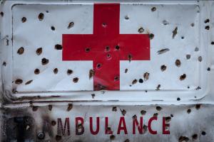 Kashmiri ambulance (Kashmir Freedom) Dec 12 2016