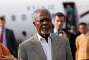 Kofi Annan in Arakan Dec 2 2016 (Reuters:Soe Zeya Tun) Dec 6 2016