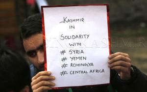 Medical students in Kashmir (Rising Kashmir)