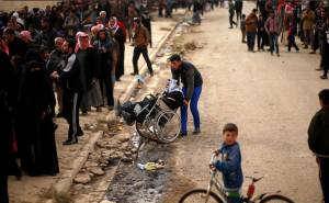 Mosul Dec 8 2016 (REUTERS:Ahmed Jadallah.) Dec 9 2016