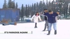 NDTV on tourism in Kashmir Dec 23 2016