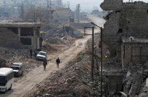 east Aleppo after fall (REUTERS:Omar Sanadiki) Dec 24 2016