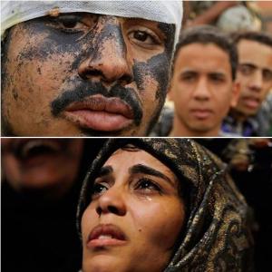 Egyptian revolutionists Jan 2017