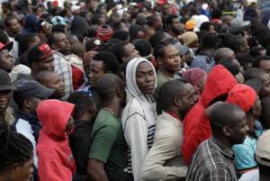 Haitians in Tijuana (AP Photo:Gregory Bull) Jan 12 2017