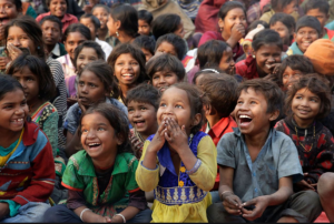 Little kids in Allahabad, India (Rajesh Kumar Singh:AP) Jan 19 2017