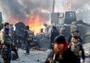 Mosul Jan 16 2017 (REUTERS:Muhammad Hamed) Jan 17 2017