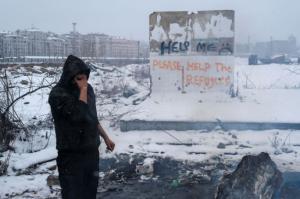 Refugee in Belgrade Jan 18 2017 ( Marko Djurica:Reuters) Jan 19 2017
