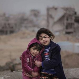 Sisters in Gaza Jan 2017