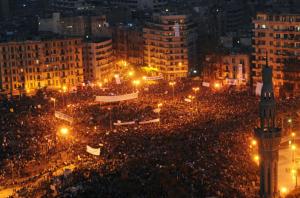 Tahrir Square Jan 25 2011 (EPA)