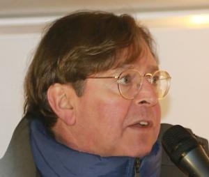 Udo Ulfkotte at Pegida demo 2015