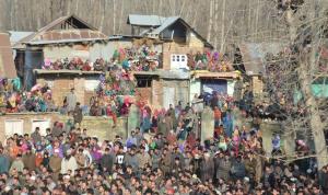 Funeral protest (Kashmir Living) Feb 12 2017