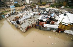 Gaza flooding 2017 REUTERS:Mohammed Salem) Feb 20 2017