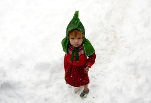 Kabul IDP child (Mohammad Ismail:Reuters) Feb 5 2017