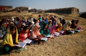 Rohingya kids learning to read Quran Cox's Bazar (REUTERS:Mohammad Ponir Hossain) Feb 8 2017