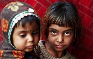 Afghan orphan girls Mar 14 2017