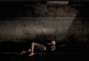 Drug war victim in duct tape (Carlo