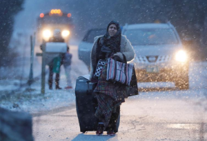Fleeing to Canada