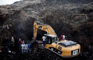 Koshe garbage dump in Ethiopia's capital Addis Ababa. REUTERS:Tiksa Negeri