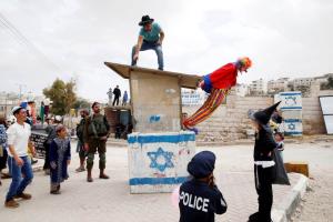Ourin in Hebron (Baz Ratner : Reuters) Mar 13 2017