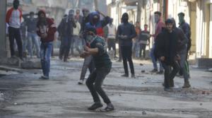 Stone pelters Kashmiri Intifada Mar 30 2017