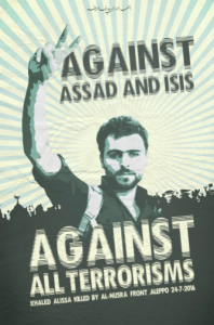 Syrian political poster Mar 18 2017