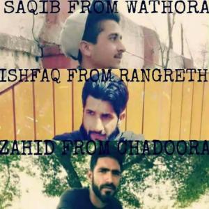 The three martyrs of Chadoora Mar 28 2017
