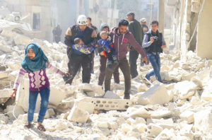 rebel-held Idlib city, Syria. REUTERS:Ammar Abdullah: Mar 20 2017