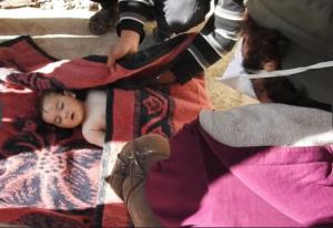 Idlib baby victim ((Firas Faham:Anadolu Agency:Getty Images) Apr 5 2017