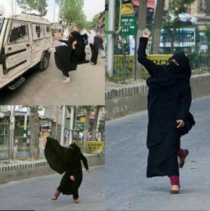 Kashmir women kicking ass