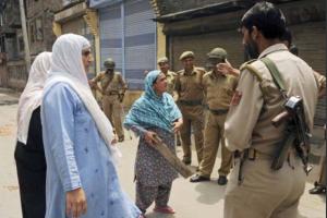Kashmir women & soldiers (Voices of Kashmir) Mar 29 2017