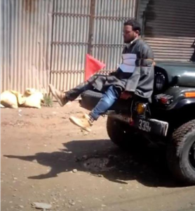 Kashmiri human shield from video) Apr 14 2017