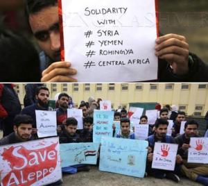 Kashmiri solidarity demo Apr 26 2017