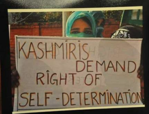 Kashmiris demand right of self-determination Apr 18 2017
