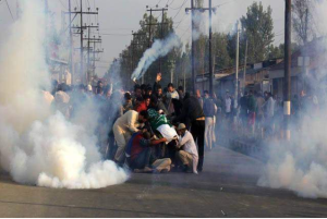 Kashmir funeral of 12 year old Junaid Oct 2016 (EPA) May 19 2017