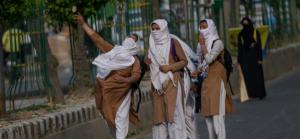 Kashmiri girl student stone pelter (AP) May 10 2017