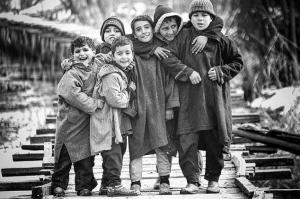Kashmiri kids from FB wall of Human Rights Violations in Kashmir May 9 2017