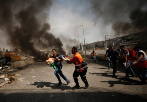 West Bank protests day of Trump visit (REUTERS:Mohamad Torokman) May 23 2017