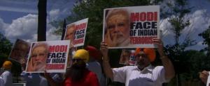 Anti-Modi protest in DC (AP) June 27 2017